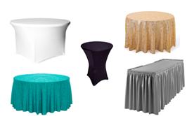 Tablecloths & Overlays