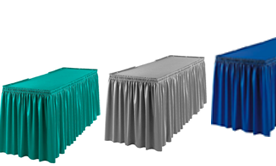 Table Toppers & Skirt Accessories