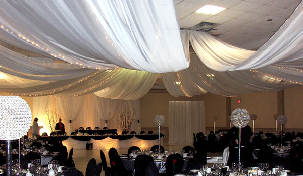 Ceiling Draping Kits