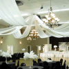 8-Panel 21ft Ceiling Draping Kit (44 Feet Wide)