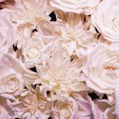 71 Piece  DecoStar™ Deluxe Foam Flower Kit  - 4ft x 8ft  -  Champagne