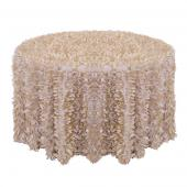 Champagne - Gatsby Designer Tablecloths by Eastern Mills - Many Size Options