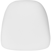 DecoStar™ Hard White Fabric Cushion for Chiavari EnvyChair™