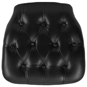 DecoStar™ Hard Black Tufted Cushion for Any EnvyChair™
