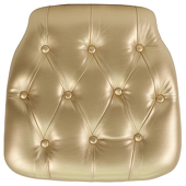 DecoStar™ Hard Gold Tufted Cushion for Any EnvyChair™