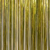 Citron - Metallic Fringe Table Skirt - Many Size Options