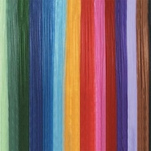 4 inch x 100 yard Flame Retardant Colored Gossamer