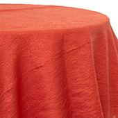 Copper - Crushed Tergalet Tablecloth by Eastern Mills - Many Size Options