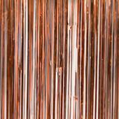 Copper - Metallic Fringe Table Skirt - Many Size Options