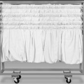 Drape/Crossbar Cart - Holds up to 80 Crossbars ( For 8-14ft Crossbars)