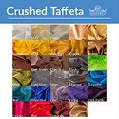 *FR* Extra Wide Crushed Taffeta by Eastern Mills by the Yard - 9 1/2 ft Wide - Choice of 28 Colors