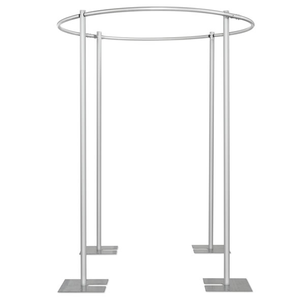8ft Round 4 Post Canopy Drape Support