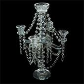 Decostar™ Beaded Candelabra 18½ ""