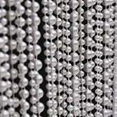 DecoStar™ 9ft Pearl White Multi Ball Chain Curtain