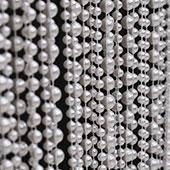 DecoStar™ 9ft Pearl White Multi Ball Chain Curtain