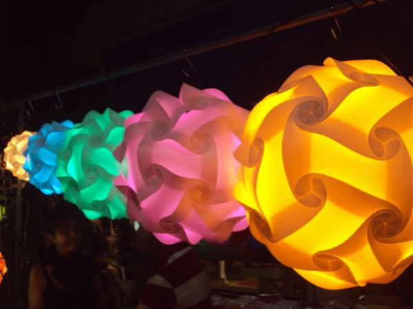 PolyLights (Jigsaw Lamps)