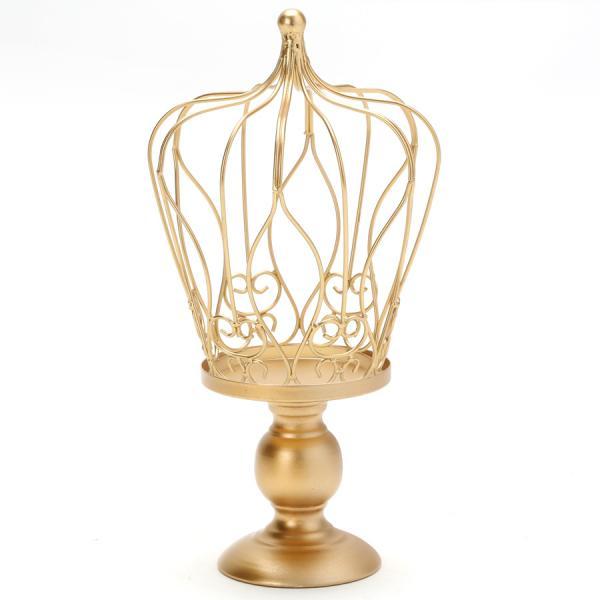 DecoStar: ''Metal Wire Crown Stand 14?'' - 8 Pieces