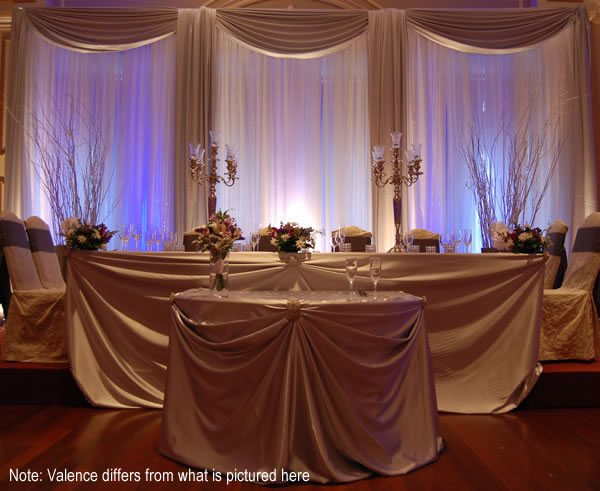8 Panel 30ft Ceiling Draping Kit 62 Feet Wide Top Sellers