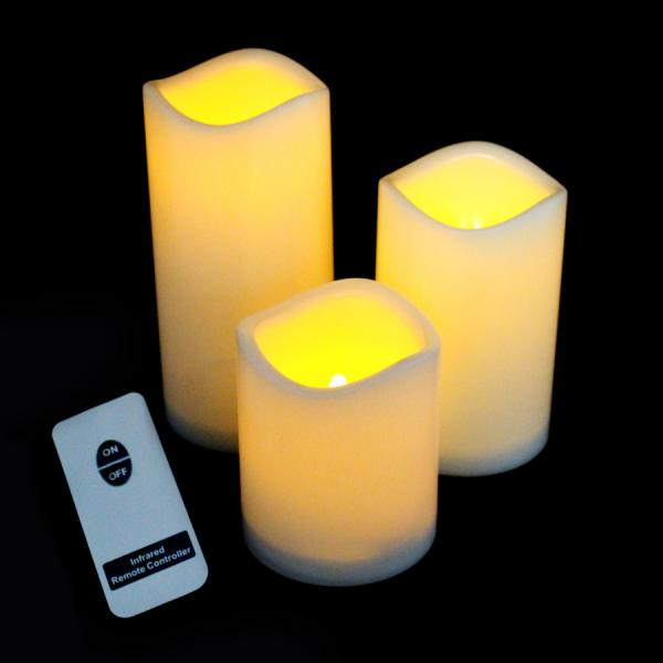 DecoStar: LED Flameless Candle?- 6 Sets of 3