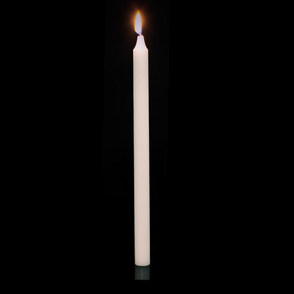 DecoStar: Taper Candles - 12'' - 288 Pieces - Ivory