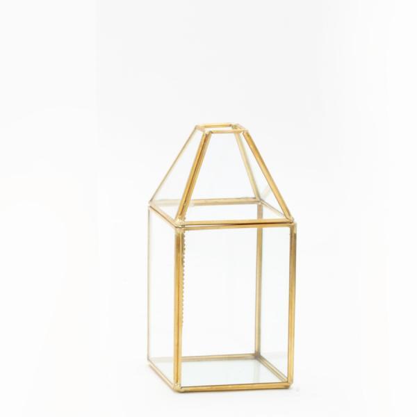 DecoStar: Terrarium Display 7?''- 12 Pieces - Gold