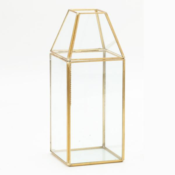 DecoStar: Terrarium Display 10? - 12 Pieces- Gold