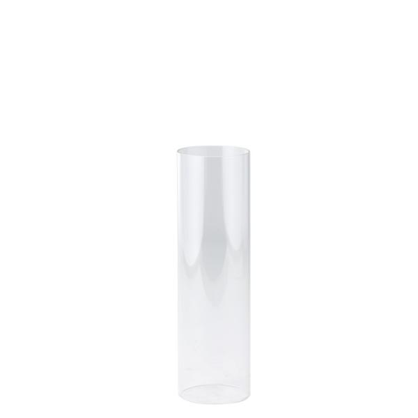 DecoStar: Open-Ended Glass Candle Shade Tube- 10'' - 36 Pieces
