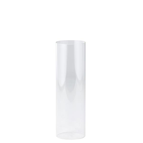 DecoStar: Open-Ended Glass Candle Shade Tube- 14'' - 16 Pieces