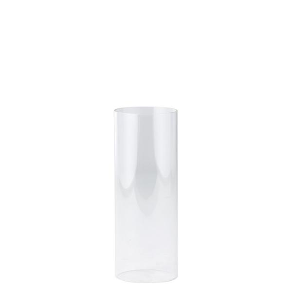 DecoStar: Open-Ended Glass Candle Shade Tube- 10'' - 12 Pieces