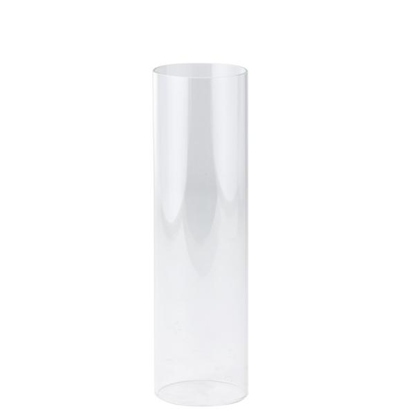 DecoStar: Open-Ended Glass Candle Shade Tube- 18'' - 6 Pieces
