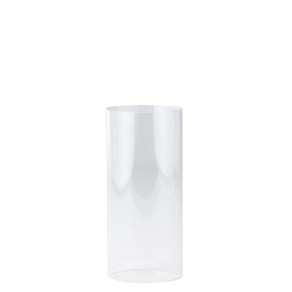 DecoStar: Open-Ended Glass Candle Shade Tube- 10'' 6 Pieces