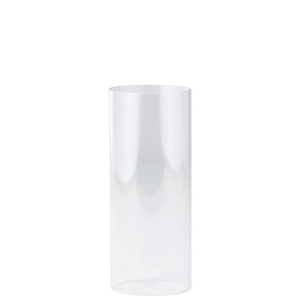 DecoStar: Open-Ended Glass Candle Shade Tube- 14'' - 6 Pieces