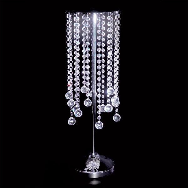 DecoStar: Crystal Rain Bead Centerpiece - 26.5'' Tall - 4 Pieces