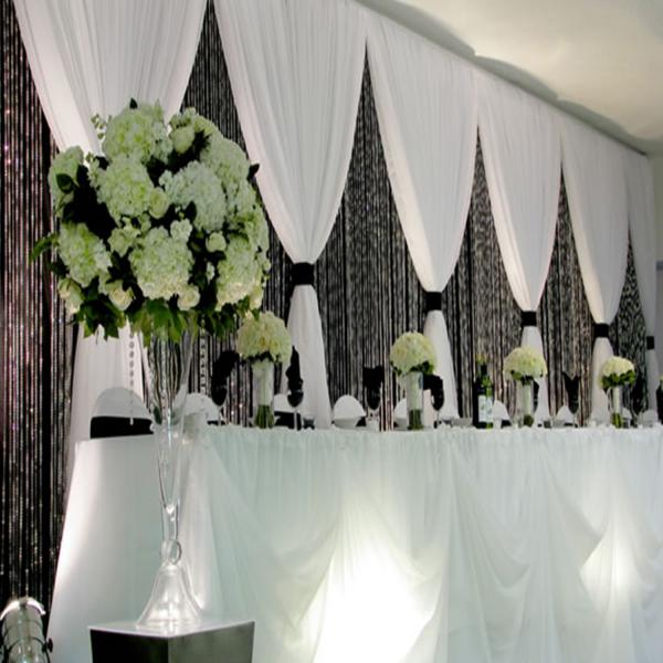 3 panel wedding backdrop 7 12ft high for Backdrop decoration