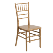 EnvyChair™ Elegant Resin Chiavari Chair - Gold