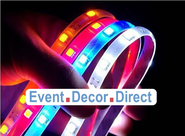 Bright flexible waterproof color changing led strip for Decor direct