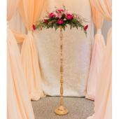Large Gold Pillar Pedestal - 49""
