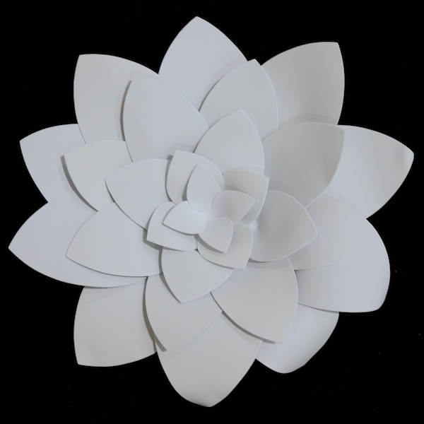 White foam flowers foam lotus flower event dcor direct tap to expand mightylinksfo