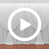 Four Panel Criss-Cross Backdrop - Instructional Video