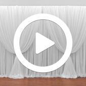 Four Panel Criss-Cross Backdrop - Instructional Video