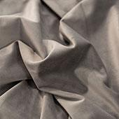 "FR Light Silver Casablanca Velvet Designer Drape by Eastern Mills - Choose your Length - 57"" Wide"