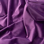 "FR Purple Casablanca Velvet Designer Drape by Eastern Mills  - Choose your Length - 57"" Wide"