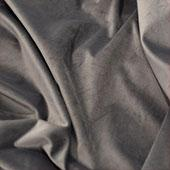 "FR Silver Casablanca Velvet Designer Drape by Eastern Mills  - Choose your Length - 57"" Wide"