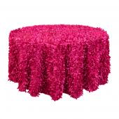Fuchsia - Gatsby Designer Tablecloths by Eastern Mills - Many Size Options