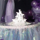 Snow Flake Centerpieces Kit (set of 4)