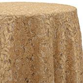 Gold - Chantal Lace Overlay - MANY SIZE OPTIONS