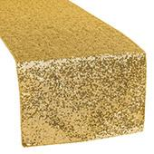 Standard Sequin Table Runner by Eastern Mills - Gold