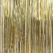 Gold - Metallic Fringe Table Skirt - Many Size Options