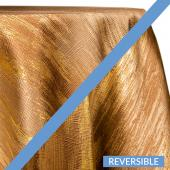 Gold - Oak Forest Designer Tablecloths by Eastern Mills - Many Size Options