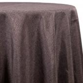 Graphite - Designer Fiesta Linen Broad Tablecloth by Eastern Mills - Many Size Options